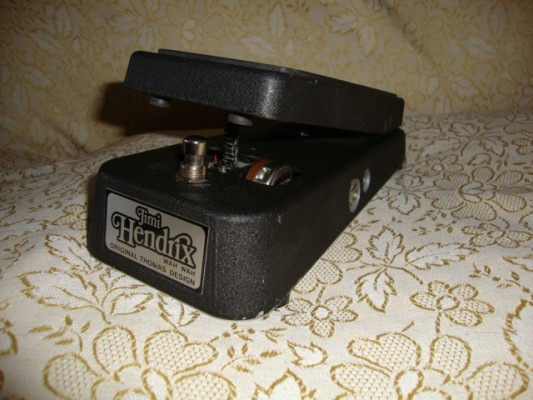 Jimi Hendrix wah wah JH 1 - original thomas design