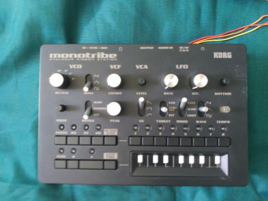 Korg Monotribe + MIDI OUT (2011)