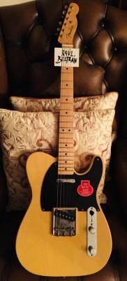 2011-2012 Fender Classic Player Baja 50s Telecaster Blonde