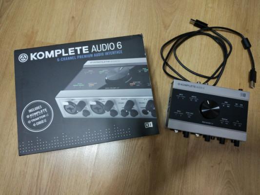 NI Komplete Audio 6+ Regalo Codigo Ableton Live Lite