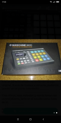Vendo Maschine Mikro en Huesca. Produce tu propia música.