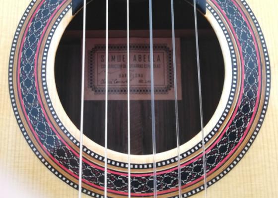 Guitarra clásica Palosanto