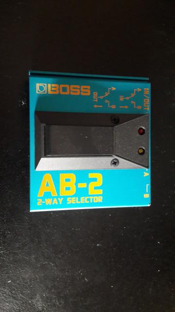 BOSS conmutador AB-2