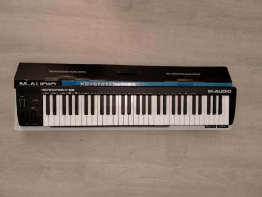 Teclado Midi M audio keystation 61 MK3 seminuevo