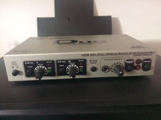 Tarjeta de sonido M Audio Duo (USB)