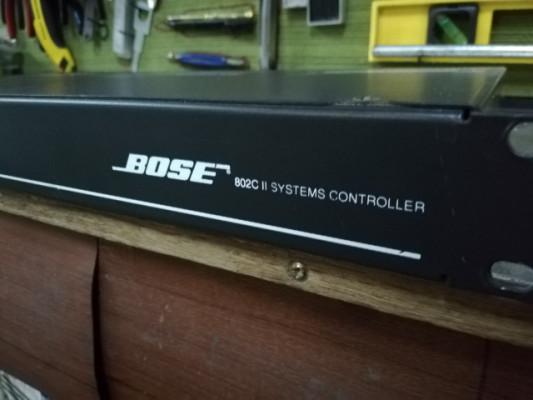 BOSE 802C II Controlador, crossover y ecualizador.