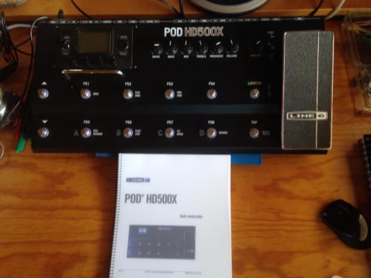 Line 6 POD HD500X (Pedalera de efectos para guitarra)