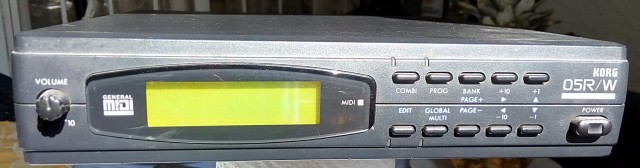 Módulo de sonidos Korg 05R/W