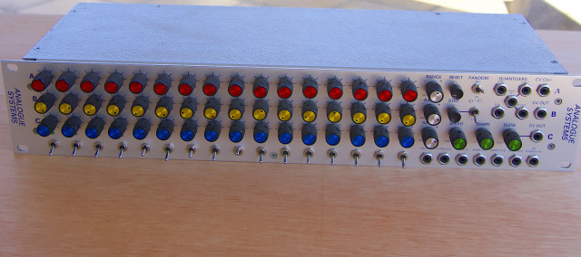 Analogue systems TH48 SEQUENCER