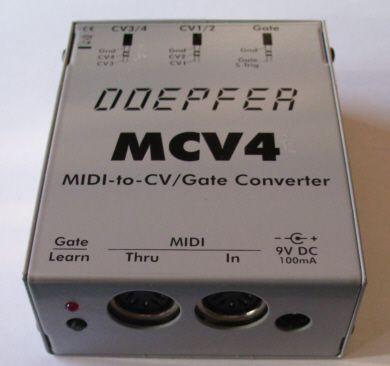 Doepfer mcv4 Midi - cv/gate