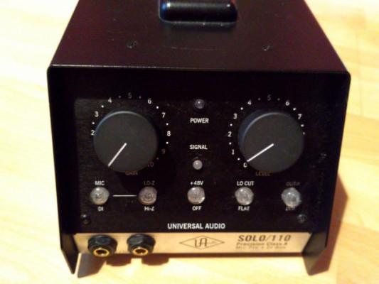 Previo Universal Audio Solo 110