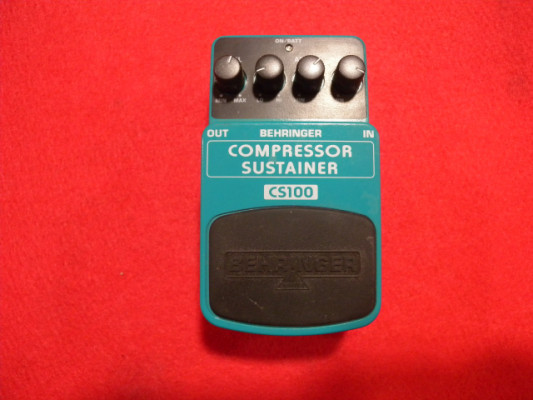 BEHRINGER CS100 COMPRESSOR SUSTAINER