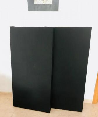 11 x Panel acústico 120cm x 60cm x 8cm lana de Roca