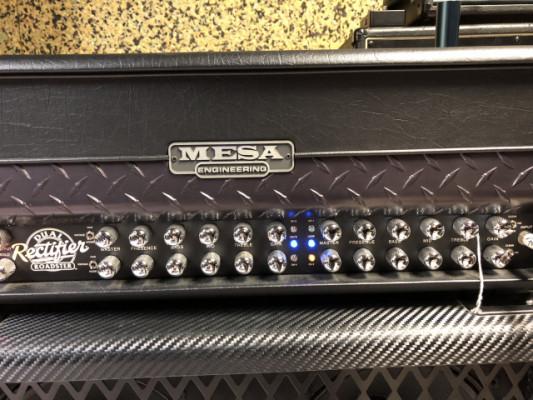 Mesa Boogie dual Rectifier roadster + pantalla Marshall