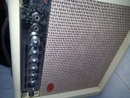 Amplificador para guitarra acústica Stagg CA-25AR