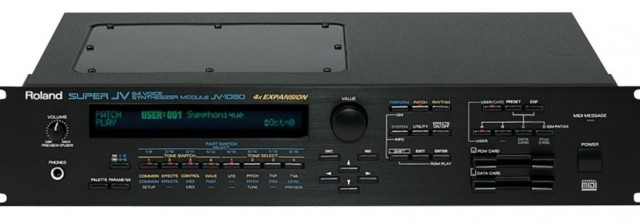 *Sinte rack Roland JV-1080+tarjeta expansion Dance y Korg KAOSS Pad - 1