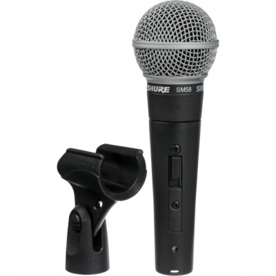 shure sm58 on/off