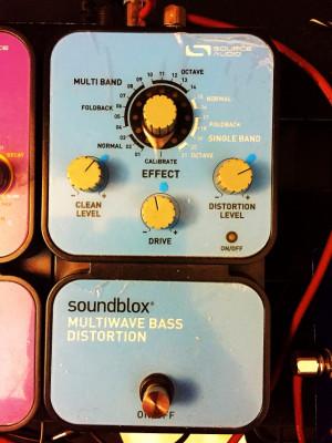 Pedal de distorsión para bajo Soundblox Multiwave