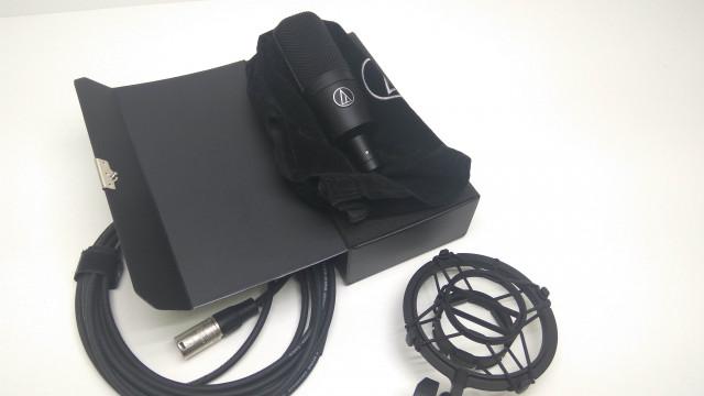 Micrófono condensador audio technica ar 4033a ¡Envío incluido!