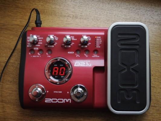 Multiefectos para bajo Zoom B2-1u