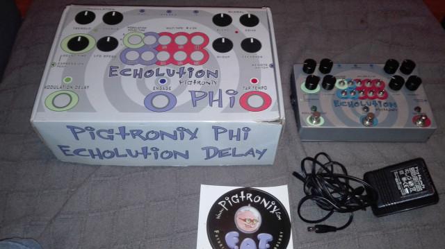 Pigtronix mod-echolution delay(reservado)