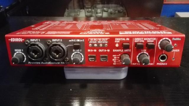 Interface EDIROL FA-101 by Roland