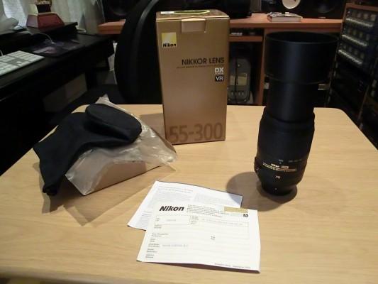 obj. Nikon 55-300 VR II DX ¡Rebajado!