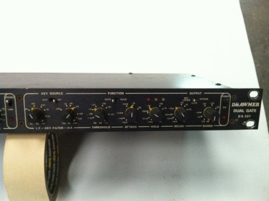 Drawmer DS 201 Noise gate