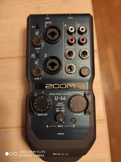 Interfacez audio Zoom U44