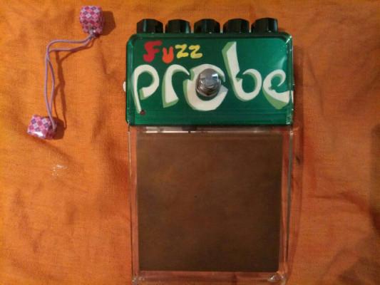 Zvex Fuzz Probe Hand Painted