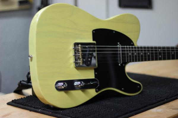 Tele Butterscotch blonde-Parreño Guitars - Video demo dentro