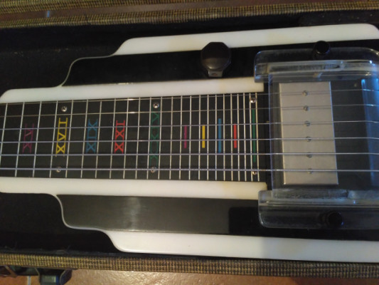 Lap Steel NATIONAL NEW YORKER 1947...cambios fender/gibson/japan