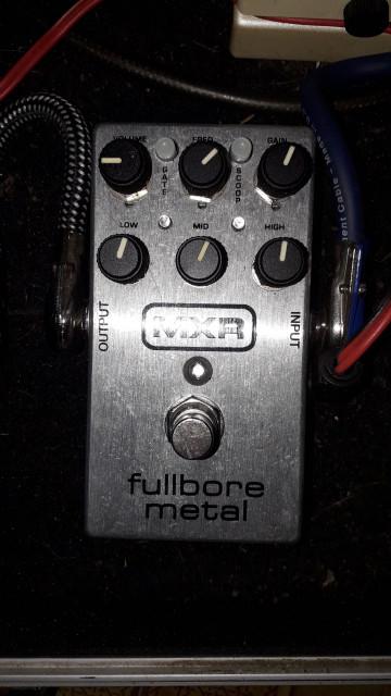 MXR FULLBORE METAL (con noise gate) REBAJA!!