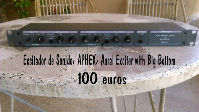 Excitador Sonido APHEX , AURAL EXCITER Big Bottom