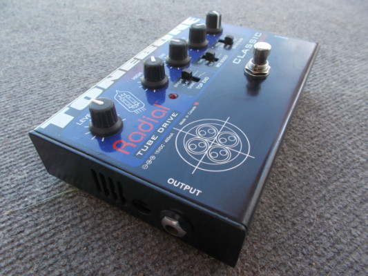 Pedal distorsion valvulas Tonebone Radial