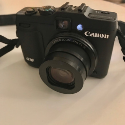 Camara Canon Powershot G16