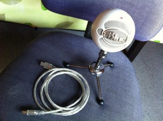 Microfóno USB Blue Snowball