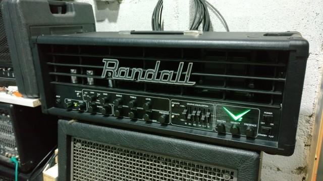 Cabezal RANDALL V2 con pedal