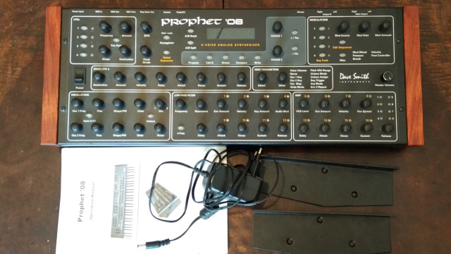 Dave Smith Prophet 08 desktop