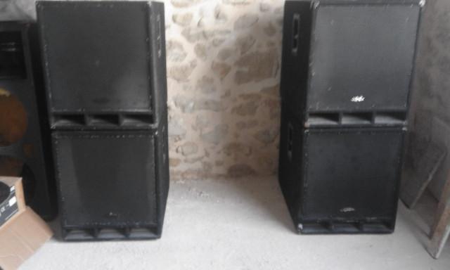 """cajas sub 18"""" vacias con o sin altavoces 600w r.m.s"""