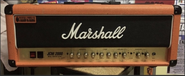 Cabezal Marshall orange  jcm 2000 edición limitada