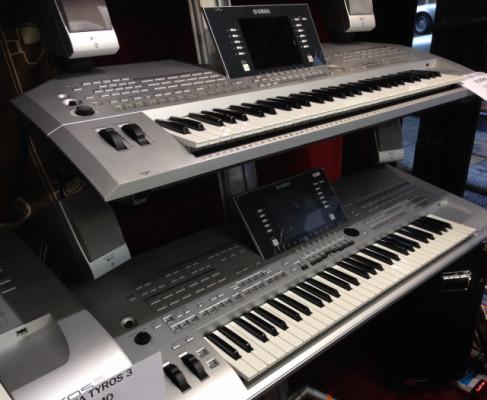 TECLADO YAMAHA TYROS 2+ equipo sonido