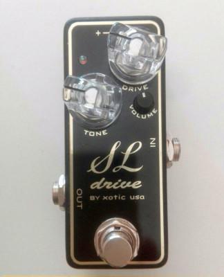Pedal para guitarra eléctrica Xotic SL Drive