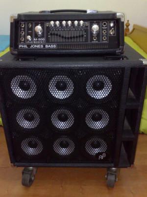 Phil Jones Bass (Stack M-500 y 9B)