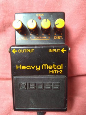 Boss Heavy Metal HM-2