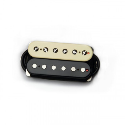 Bare Knuckle Boot Camp Brute Force Humbucker in Zebra - Neck