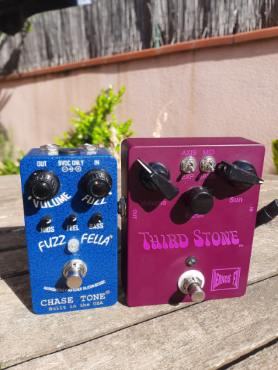Fuzz Luxe 66.  Berkos Third stone . Chase Tone Fuzzfella
