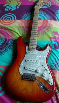 FENDER stratocaster American Deluxe Ash
