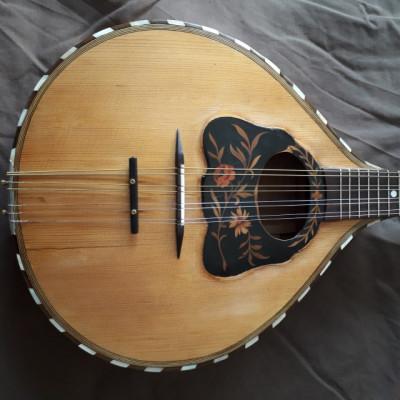 Mandolina vintage tipo alemana