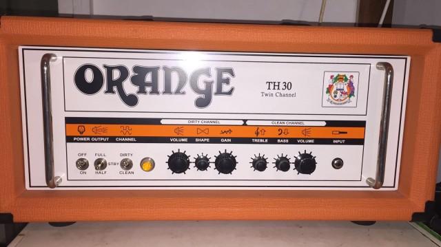 Orange Th30 por Vox AC30CC2